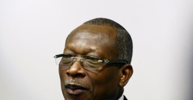 Benin President Patrice Talon's month-long absence prompted speculation about his health.  By THIERRY CHARLIER (AFP/File)