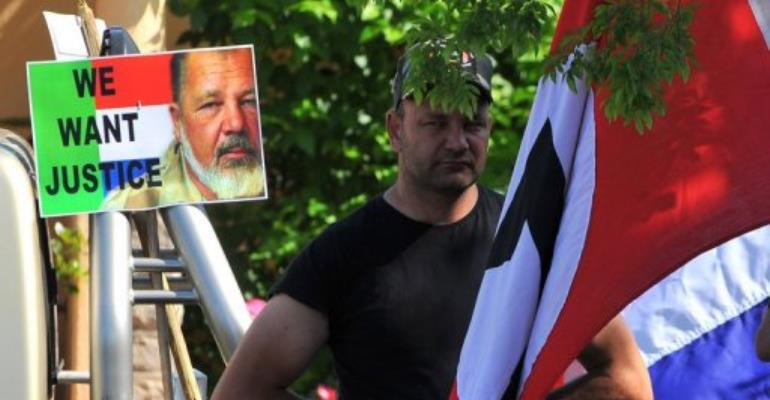 A court is to deliver its verdict in the trial of two men accused of killing white supremacist leader  Terre'Blanche.  By Alexander Joe (AFP/File)