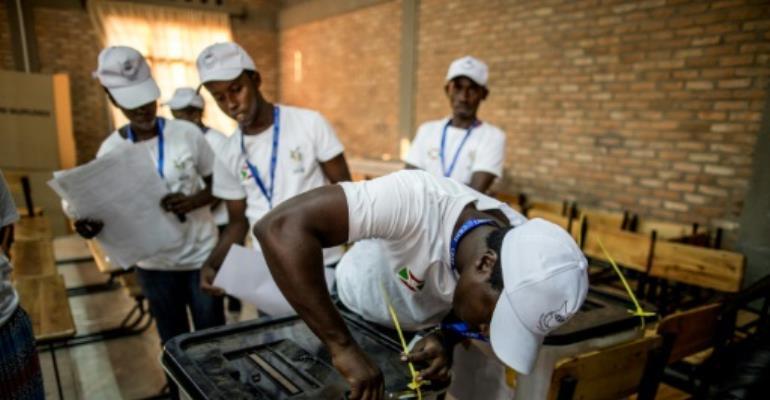 Burundi last held a presidential election in 2015.  By MARCO LONGARI (AFP/File)