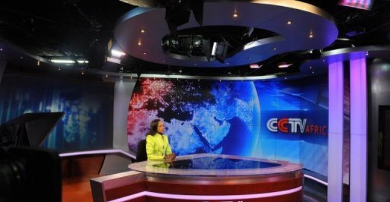 Nairobi was CCTV's first regional bureau to produce and broadcast its own hour-long news programme.  By Simon Maina (AFP/File)