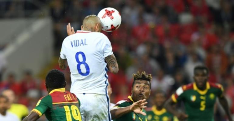 Video in spotlight as late strikes see Chile past Cameroon in Confederations Cup
