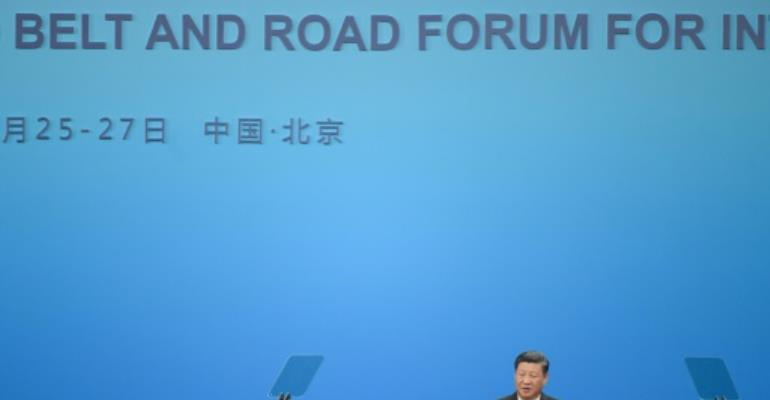 China\'s Xi Defends Belt And Road, Says \'Not Exclusive Club\'