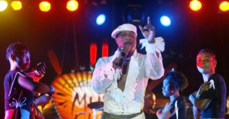 Congolese singer Koffi Olomide, seen here in 2005, was on trial after four former dancers claimed he sexually assaulted them several times between 2002 and 2006.  By Seyllou (AFP/File)