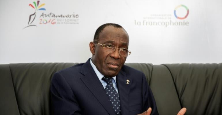 Democratic Republic of the Congo Foreign Minister Raymond Tshibanda warned political opposition to incumbent president Laurent Kabila could foment violence.  By Gianluigi Guercia (AFP)