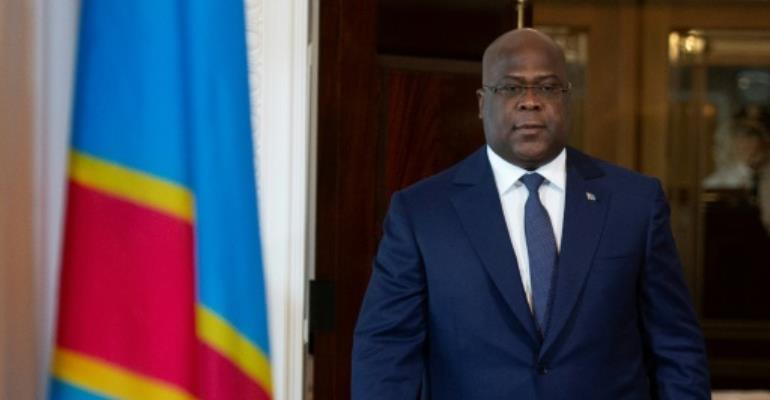 Democratic Republic of the Congo President Felix Tshisekedi says the US is the