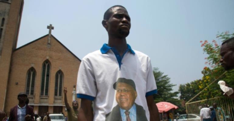 DR Congo's powerful Roman Catholic church has thrown its weight behind peaceful rallies demanding President Joseph Kabila step down.  By Junior D. KANNAH (AFP)
