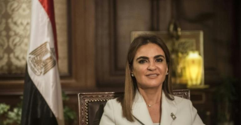 Egyptian Minister of International Cooperation Sahar Nasr said a loan from the World Bank would support private sector investment and growth projects.  By KHALED DESOUKI (AFP/File)