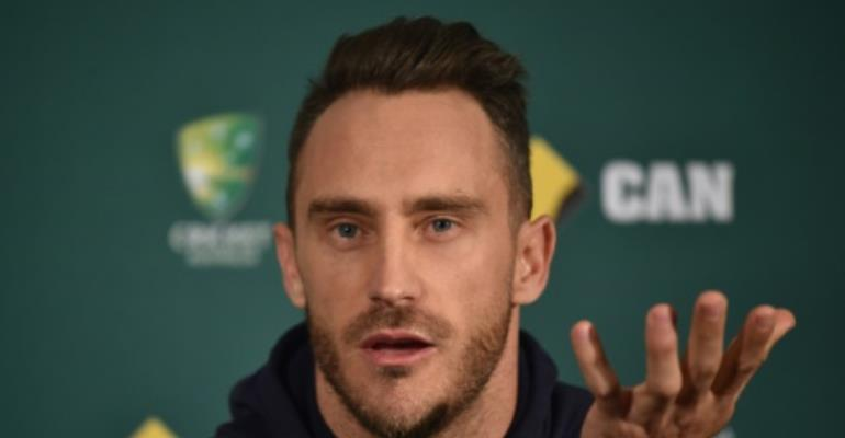 Faf du Plessis took over the captaincy of the South African cricket side in December 2016.  By PETER PARKS (AFP)