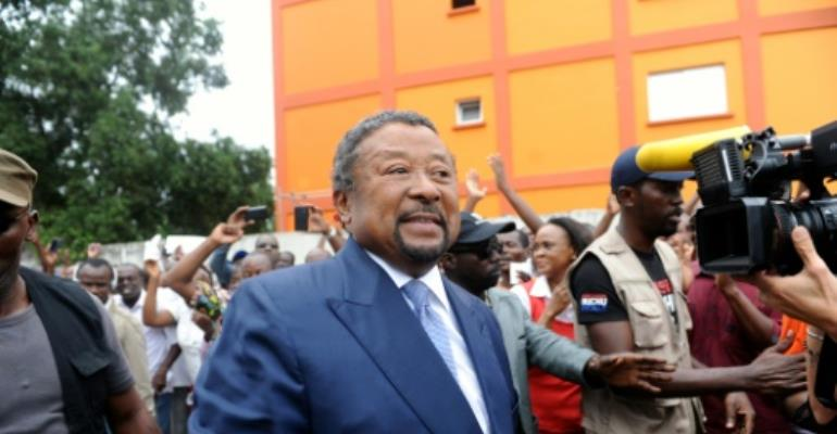 Gabon's opposition leader Jean Ping challenged the August presidential vote as fraudulent and demanded a recount.  By Steve Jordan (AFP/File)