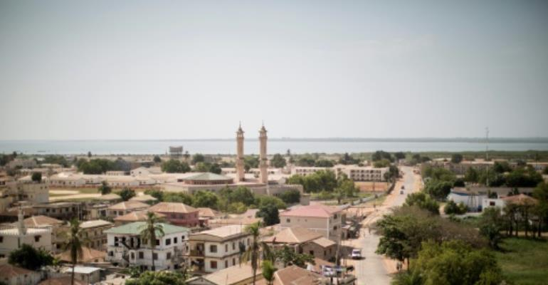 General view of the capital of Gambia, Banjul.  By Marco Longari (AFP/File)