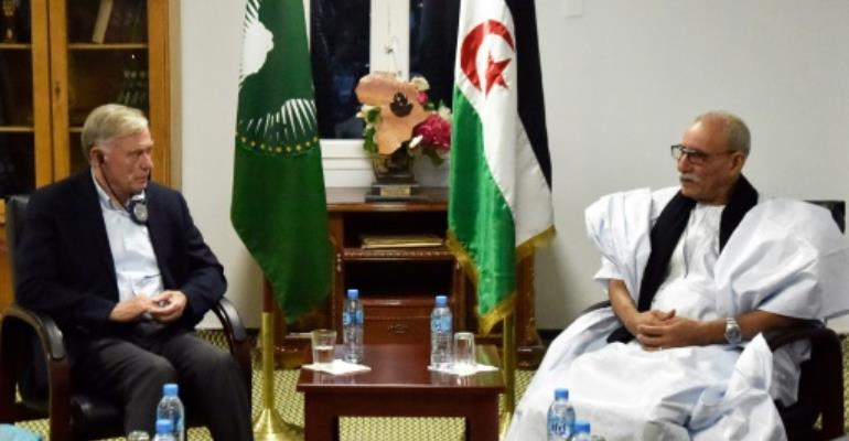 Western Sahara UN envoy says \'encouraged\' after first meetings