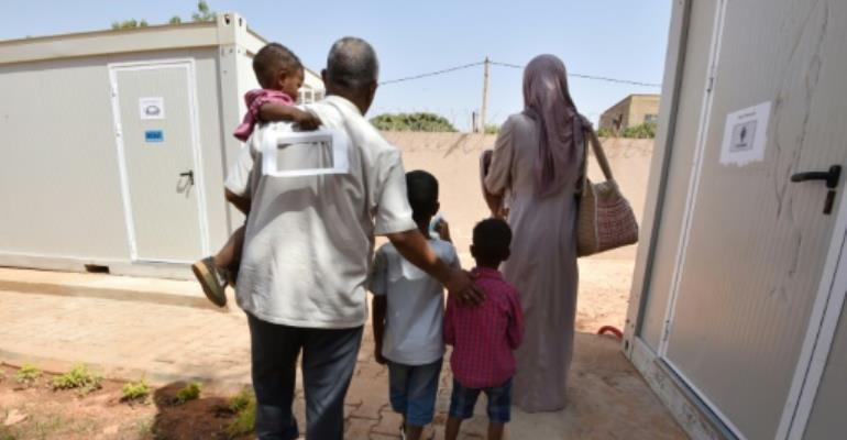 Hundreds of Niger citizens have already been flown home, with around 4,000 seeking to leave Libya where many migrants have suffered attrocities and even been sold into slavery.  By Sia KAMBOU (AFP/File)