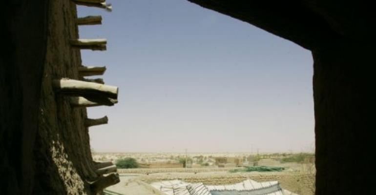 A view of Timbuktu in 2006.  By Issouf Sanogo (AFP/File)