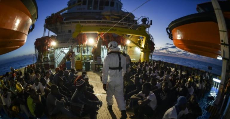 Italy has registred more than 65,000 migrant arrivals since January, up nearly a fifth from this same time last year.  By ANDREAS SOLARO (AFP/File)