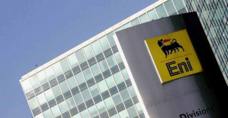 ENI's giant natural gas discovery off Mozambique could be the largest in the company's history.  By Paco Serinelli (AFP)
