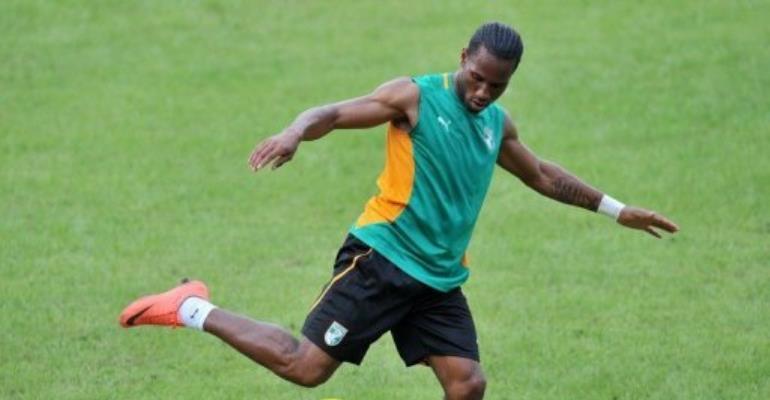 Didier Drogba.  By Sia Kambou (AFP/File)