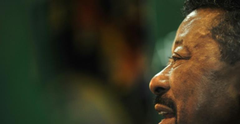 Jean Ping, former head of the African Union, is a Gabonese career diplomat who was narrowly defeated by Ali Bongo in last year's presidential election.  By TONY KARUMBA (AFP/File)