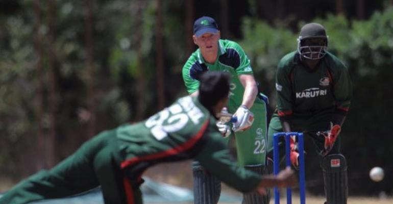 Kenya has launched an elite cricket programme after the team's dismall performance in last year's World Cup.  By Simon Maina (AFP/File)