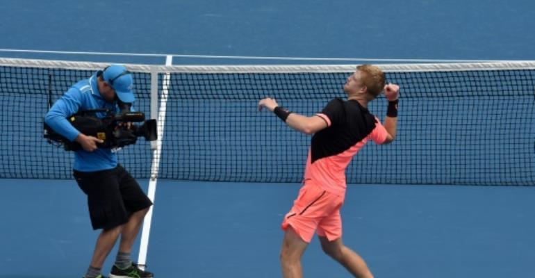 Edmund upsets US Open finalist Anderson in five-setter