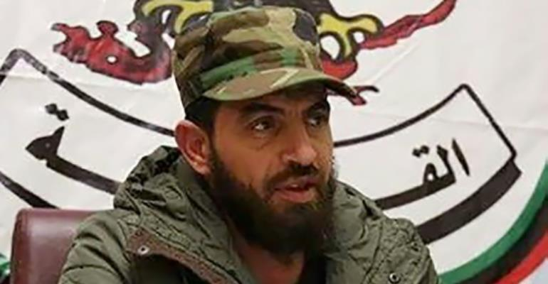 Mahmoud Mustafa Busayf Al-Werfalli is suspected of involvement in the deaths of 33 people in the war-torn city of Benghazi.  By - (ICC-CPI/AFP/File)