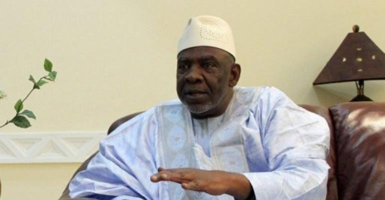 Malian Prime Minister Cheick Modibo Diarra, pictured on 29 August 2012.  By Habibou Kouyate (AFP/File)