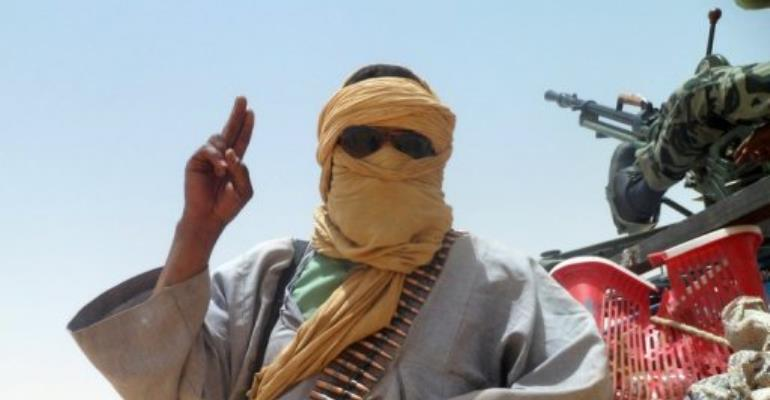 Rebel group Ansar Dine has asked Islamists in Mali to free Algerian hostages.  By Romaric Ollo Hien (AFP/File)