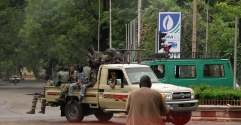 As a military coup unfolded in Mali's capital Bamako, the rebels took control of the north.  By Habibou Kouyate (AFP/File)
