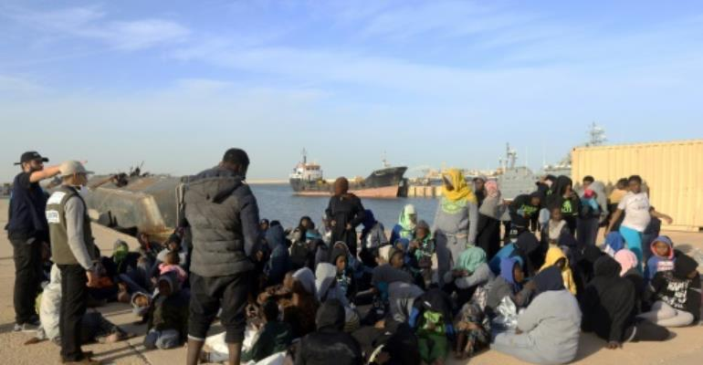 More than 117,000 migrants made the journey across the Mediterranean last year, while more than 3,000 lost their lives at sea.  By MAHMUD TURKIA (AFP/File)