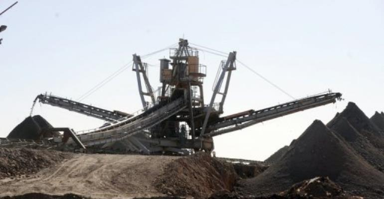 Areva's uranium mine in Arlit.  By Issouf Sanogo (AFP/File)