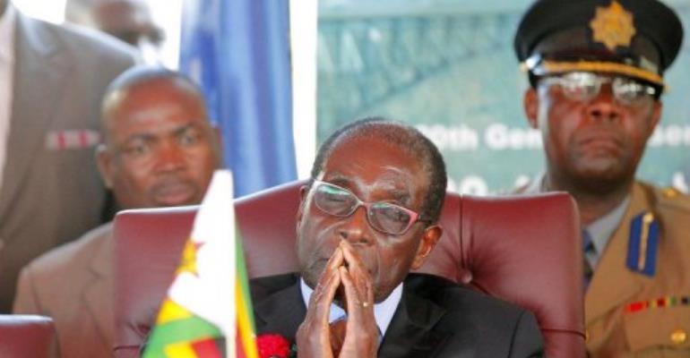 Pro-Mugabe radio station Star FM began transmitting at midday today.  By Joseph Mwenda (AFP)