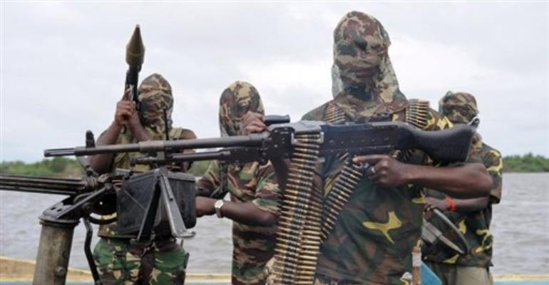 MEND claimed Friday's attack on a facility operated by Agip, the Nigerian subsidiary of Italy's Eni.  By Pius Utomi Ekpei (AFP/File)