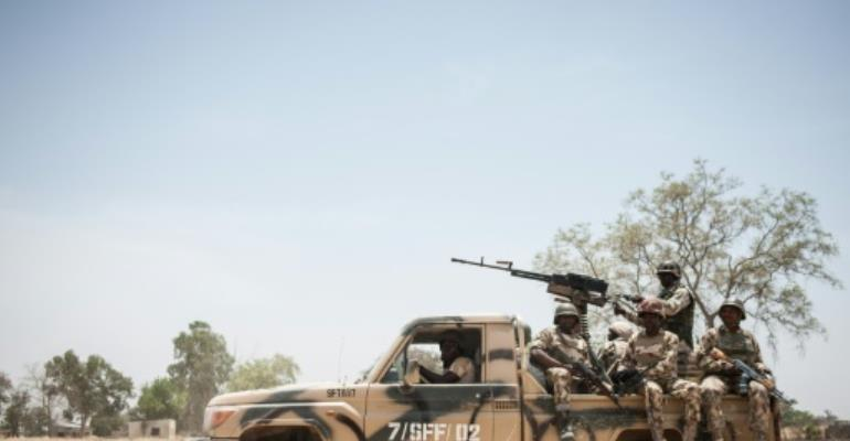 Nigeria has formed a regional military coalition involving Cameroon, Chad and Niger to eradicate Boko Haram.  By Stefan Heunis (AFP/File)