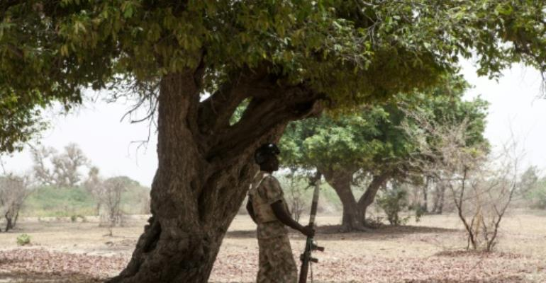 Nigerian security services claim Boko Haram was planning attacks during Eid al-Adha celebrations, something the military deny is a sign of the terrorist group's resurgence.  By Florian PLAUCHEUR (AFP)
