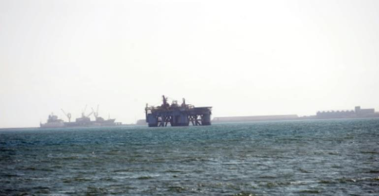 Offshore oil revenue is expected to soon pick up for Ghana..  By PIUS UTOMI EKPEI (AFP/File)