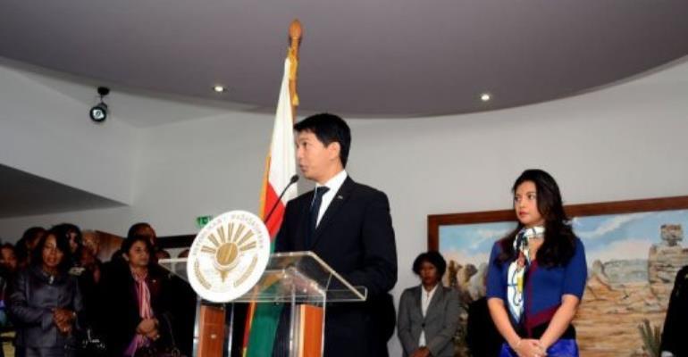 Madagascar President Andry Rajoelina.  By Bilal Tarabey (AFP)