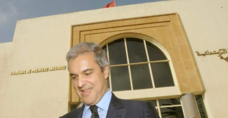 Prince Moulay Hicham, cousin of Morocco's King Mohammed VI, in a September 17, 2012 picture.  By ABDELHAK SENNA (AFP)