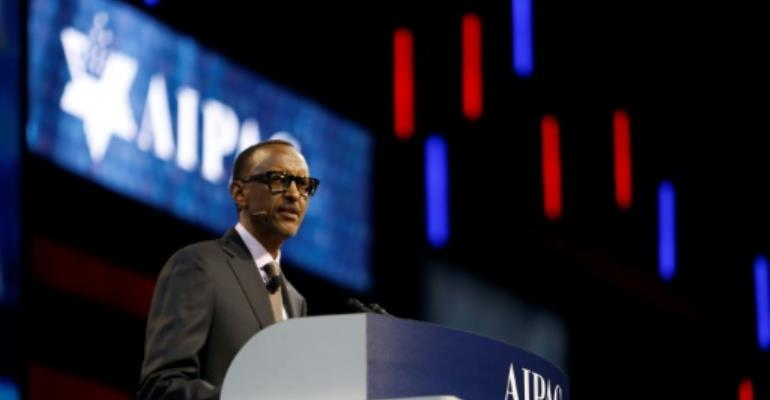 Kagame hails Rwanda-Israel bond at Washington forum
