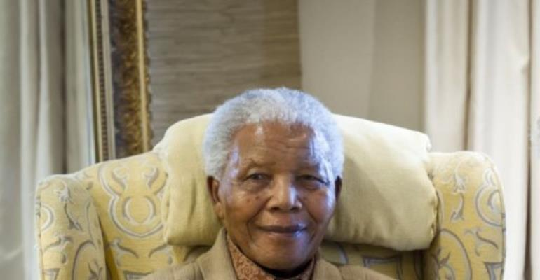 Supporters of Boeremag allegedly plotted to kill Nelson Mandela in 2002.  By BARBARA KINNEY (AFP)