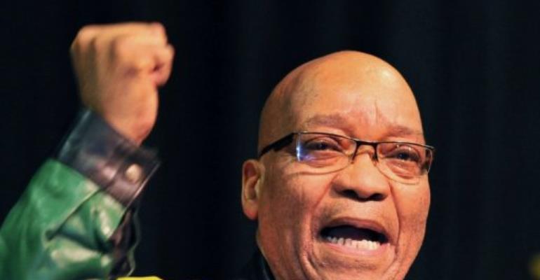 Jacob Zuma.  By Alexander Joe (AFP/File)