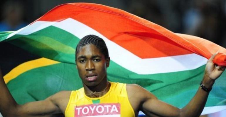 Caster Semenya.  By Franck Fife (AFP/File)