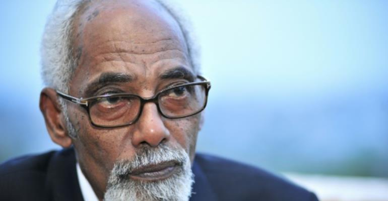 Somalia's former speaker Mohamed Osman Jawari reelected to post by newly-installed lawmakers.  By Tobin Jones (AU-UN IST/AFP/File)