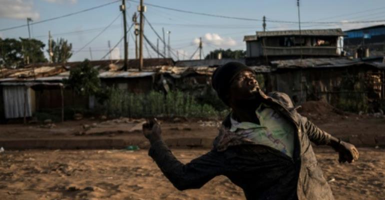 Some opposition protests in Kenya have turned violent.  By Fredrik Lerneryd (AFP/File)
