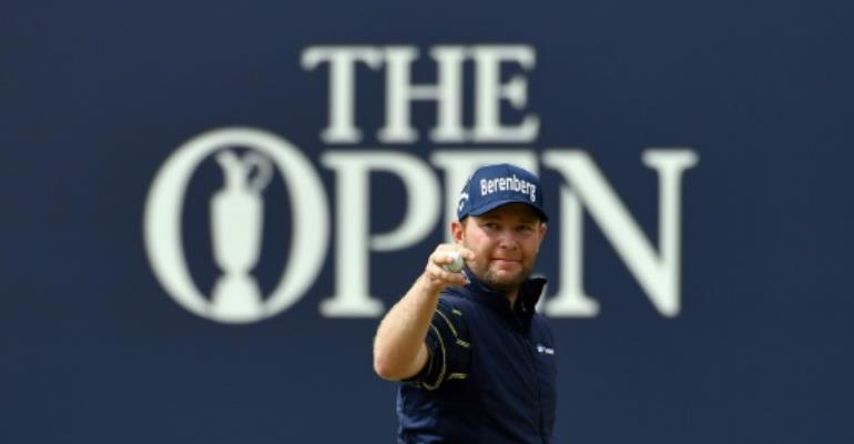 Branden Grace shoots first ever major championship round of 62