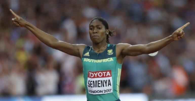 Peerless Semenya claims third world 800m title