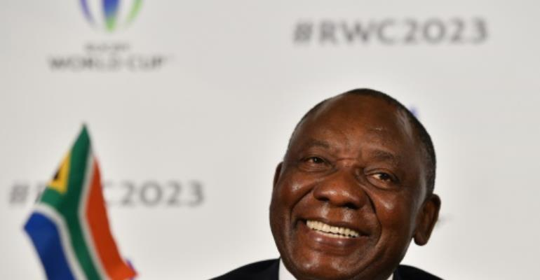 South Africa's Deputy President Cyril Ramaphosa is now in line to succeed President Jacob Zuma.  By Glyn KIRK (AFP/File)