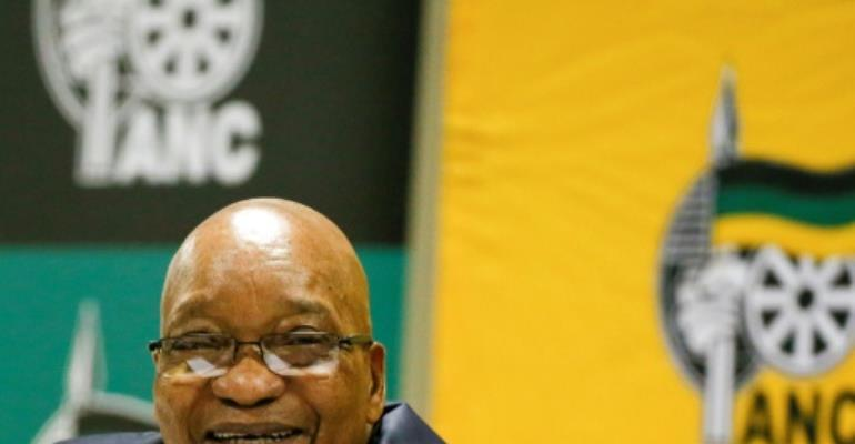 South Africa's President Jacob Zuma has been engulfed by graft scandals and several humiliating court rulings.  By Phill Magakoe (AFP/File)