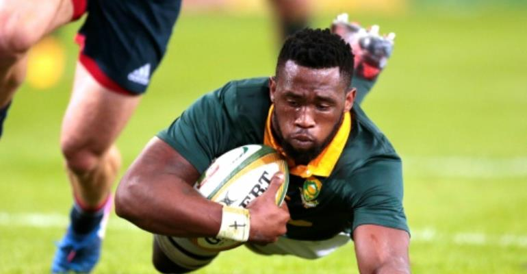 Springboks and \'monstrous\' Kolisi hailed by media