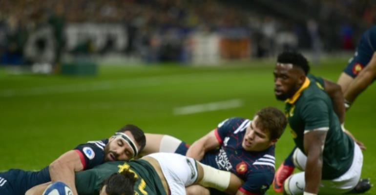 Springboks bounce back to beat France
