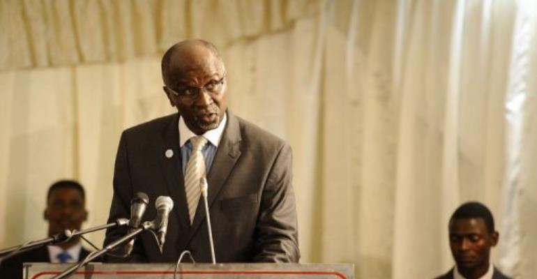 Southern African Development Community Executive Secretary Tomaz Salomao.  By Stephane de Sakutin (AFP)