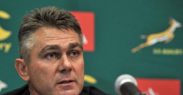 South Africa coach Heyneke Meyer.  By  (AFP/File)